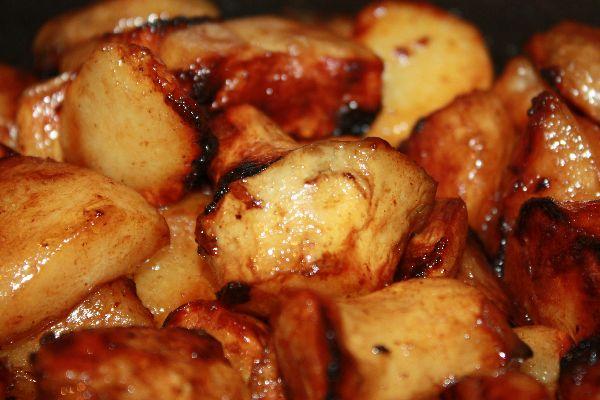 Topinambours glac s recette originale alain darroze - Cuisiner des topinambours ...