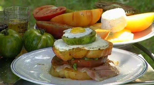 burger de tomates